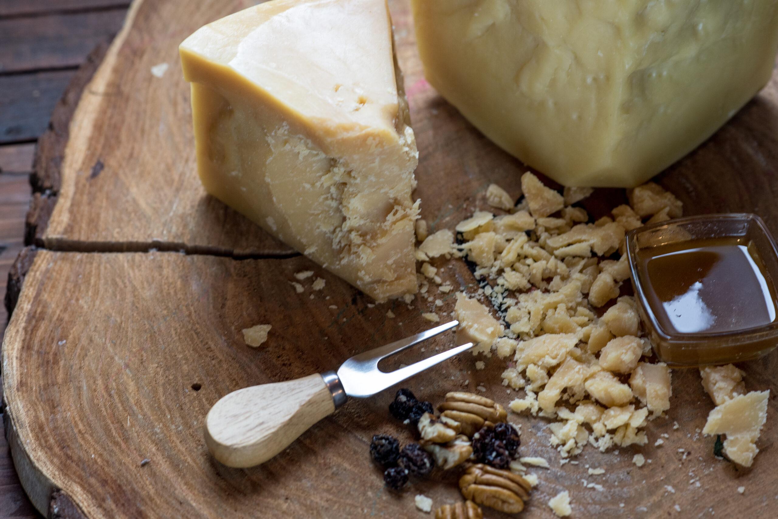 Tec. de Elaboración de Quesos de Pasta Dura (Tipo Sbrinz o Parmesano)